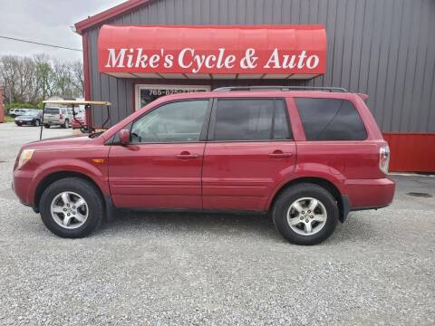 2006 Honda Pilot for sale at MIKE'S CYCLE & AUTO in Connersville IN