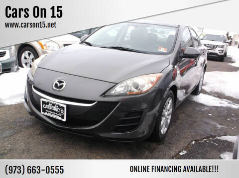 2010 Mazda MAZDA3 for sale at Cars On 15 in Lake Hopatcong NJ