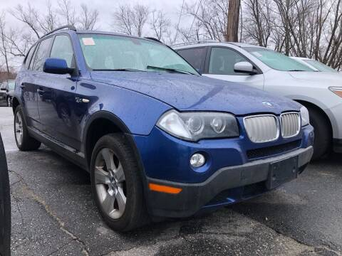 2007 BMW X3 for sale at Top Line Import in Haverhill MA