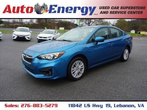 2018 Subaru Impreza for sale at Auto Energy in Lebanon VA