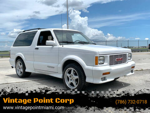 1992 GMC Typhoon for sale at Vintage Point Corp in Miami FL