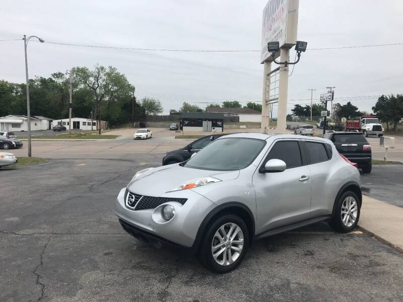 2013 Nissan JUKE for sale at Patriot Auto Sales in Lawton OK