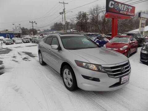 2010 Honda Accord Crosstour for sale at Comet Auto Sales in Manchester NH