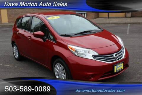 2015 Nissan Versa Note for sale at Dave Morton Auto Sales in Salem OR