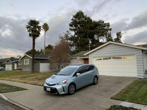 2016 Toyota Prius v for sale at Blue Eagle Motors in Fremont CA