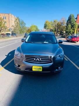2015 Infiniti QX60 for sale at Hartford Auto Center in Hartford CT