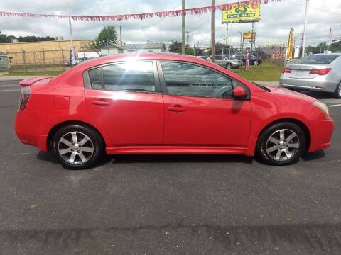 2012 Nissan Sentra for sale at Kenny's Auto Sales Inc. in Lowell NC