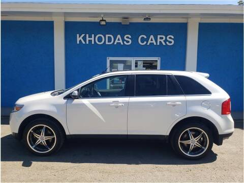 2013 Ford Edge for sale at Khodas Cars in Gilroy CA