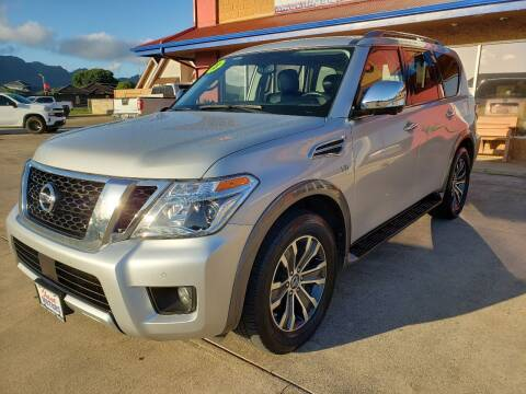 2018 Nissan Armada for sale at Ohana Motors in Lihue HI