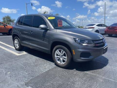 2013 Volkswagen Tiguan for sale at Mike Auto Sales in West Palm Beach FL