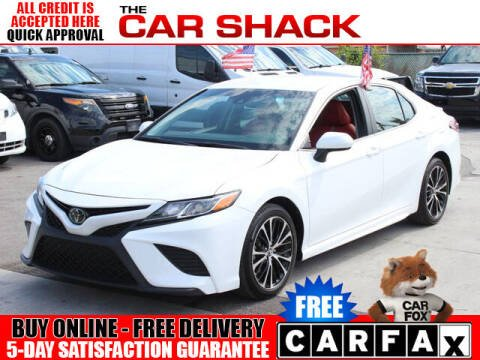 2018 Toyota Camry for sale at The Car Shack in Hialeah FL