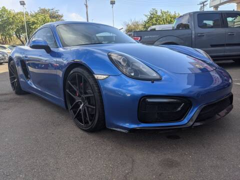 2015 Porsche Cayman for sale at Convoy Motors LLC in National City CA
