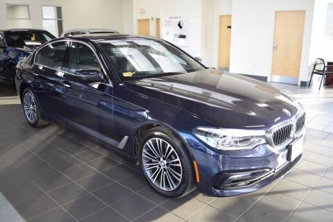 2017 BMW 5 Series for sale at BMW OF NEWPORT in Middletown RI