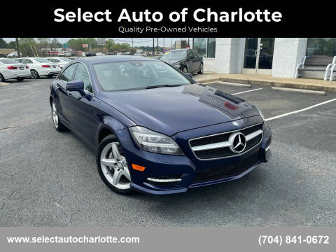 2014 Mercedes-Benz CLS for sale at Select Auto of Charlotte in Matthews NC