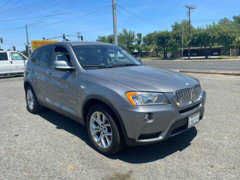 2013 BMW X3 for sale at All Cars & Trucks in North Highlands CA