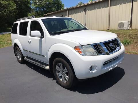 2011 Nissan Pathfinder for sale at Happy Days Auto Sales in Piedmont SC