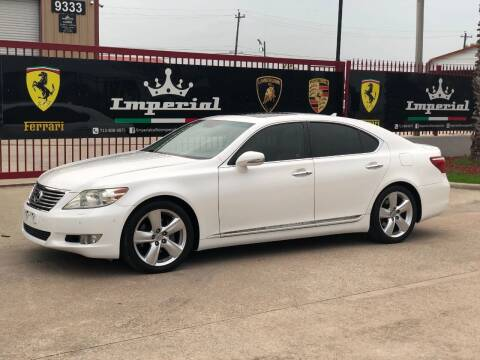 2010 Lexus LS 460 for sale at Texas Auto Corporation in Houston TX