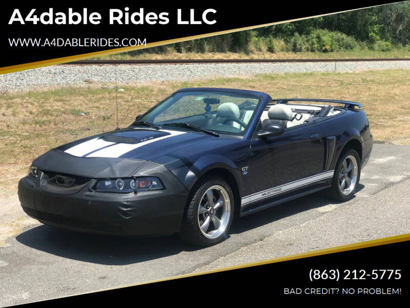 2003 Ford Mustang for sale at A4dable Rides LLC in Haines City FL