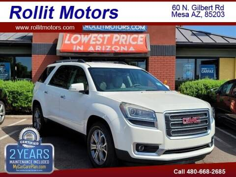 2015 GMC Acadia for sale at Rollit Motors in Mesa AZ