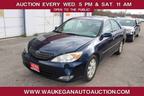 2003 Toyota Camry for sale at Waukegan Auto Auction in Waukegan IL