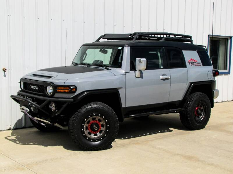 2014 Toyota FJ Cruiser for sale at Lyman Auto in Griswold IA