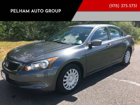 2009 Honda Accord for sale at Pelham Auto Group in Pelham NH