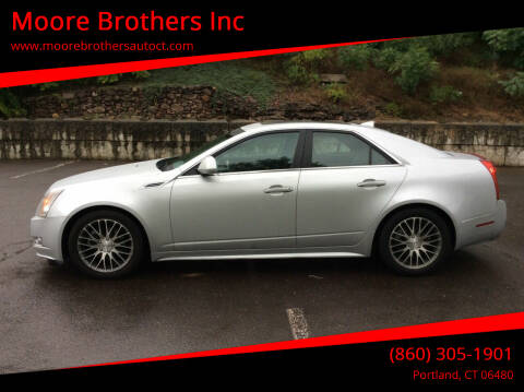 2010 Cadillac CTS for sale at Moore Brothers Inc in Portland CT