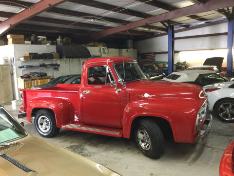 1955 Ford F-100 for sale at Classic Connections in Greenville NC
