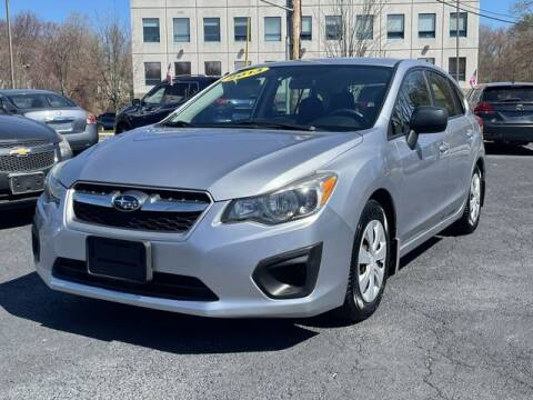 2013 Subaru Impreza for sale at All Star Auto  Cycle in Marlborough MA