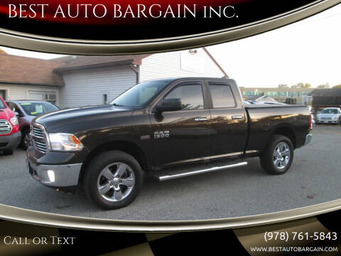 2013 RAM Ram Pickup 1500 for sale at BEST AUTO BARGAIN inc. in Lowell MA