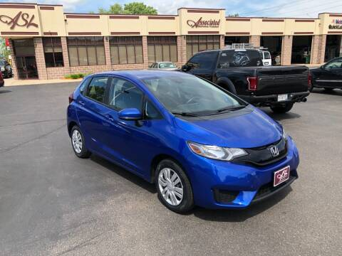 2016 Honda Fit for sale at ASSOCIATED SALES & LEASING in Marshfield WI