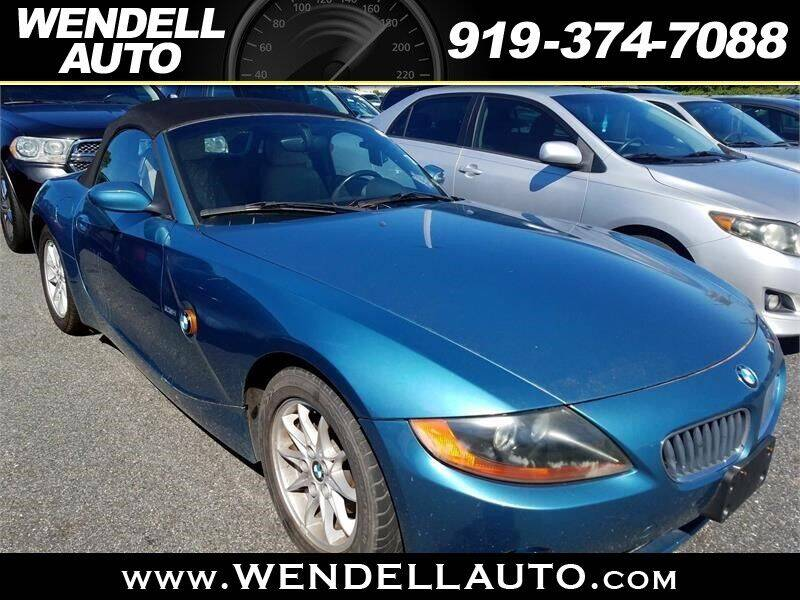 2003 BMW Z4 for sale in Wendell, NC