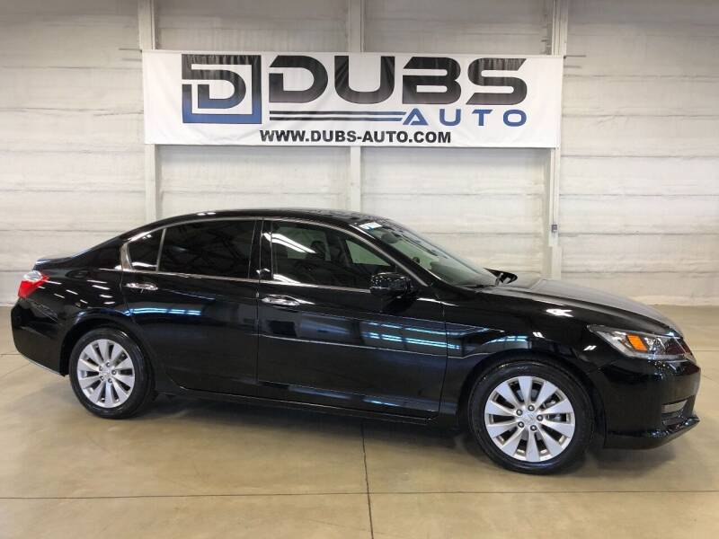 2015 Honda Accord for sale at DUBS AUTO LLC in Clearfield UT