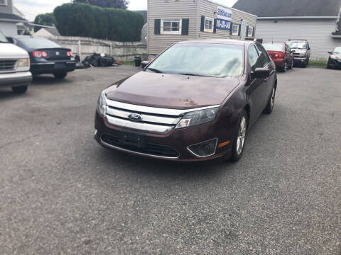 2012 Ford Fusion for sale at 25TH STREET AUTO SALES in Easton PA