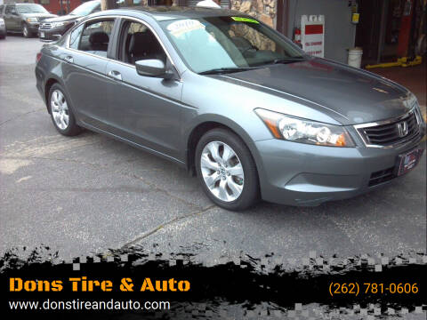 2010 Honda Accord for sale at Dons Tire & Auto in Butler WI