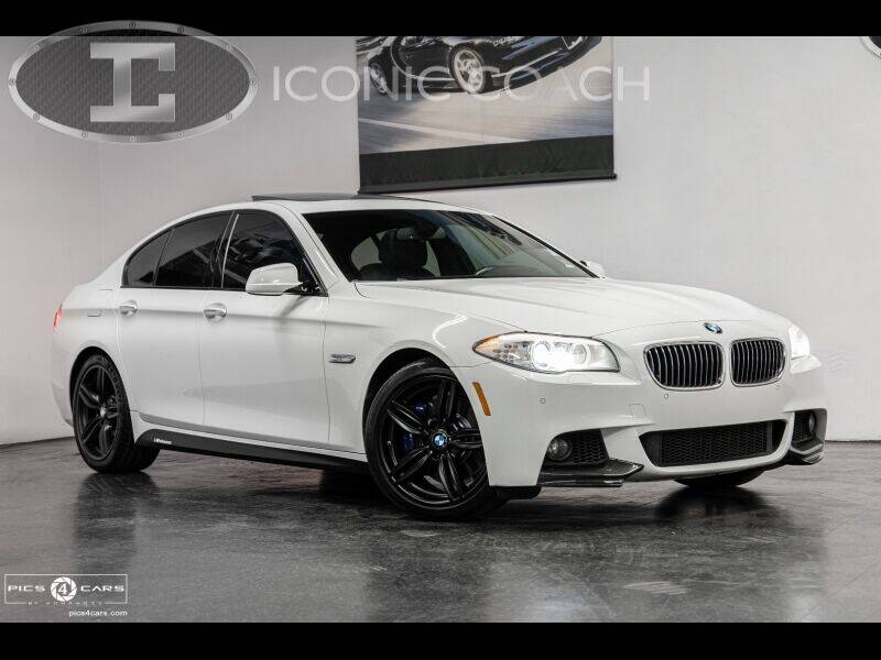 2013 BMW 5 Series for sale at Iconic Coach in San Diego CA