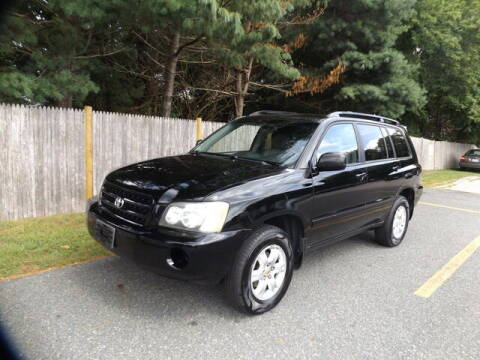 2003 Toyota Highlander for sale at Wayland Automotive in Wayland MA