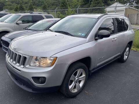 2011 Jeep Compass for sale at Premiere Auto Sales in Washington PA