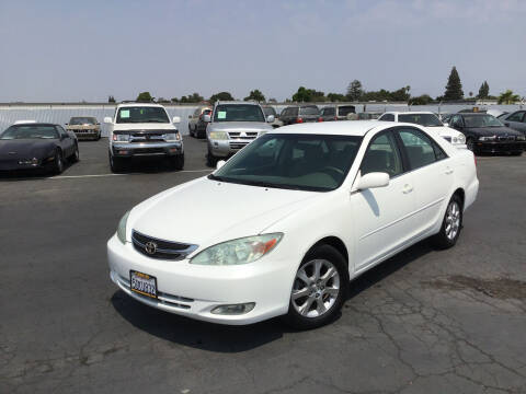 2004 Toyota Camry for sale at My Three Sons Auto Sales in Sacramento CA