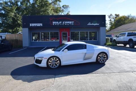 2014 Audi R8 for sale at Gulf Coast Exotic Auto in Biloxi MS