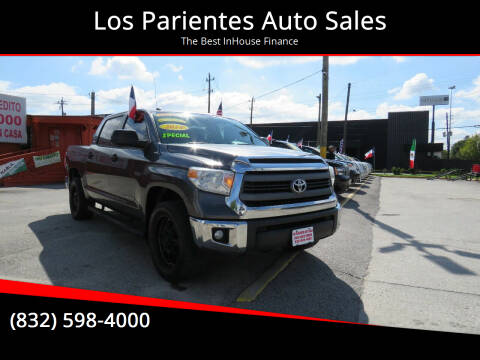 2014 Toyota Tundra for sale at Los Parientes Auto Sales in Houston TX