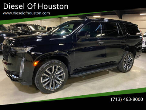 2021 Cadillac Escalade for sale at Diesel Of Houston in Houston TX