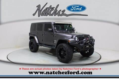 2014 Jeep Wrangler Unlimited for sale at Auto Group South - Natchez Ford Lincoln in Natchez MS