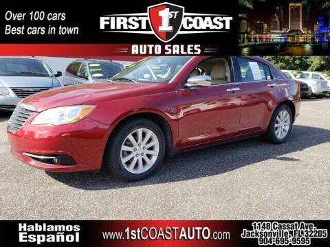 2013 Chrysler 200 for sale at 1st Coast Auto -Cassat Avenue in Jacksonville FL
