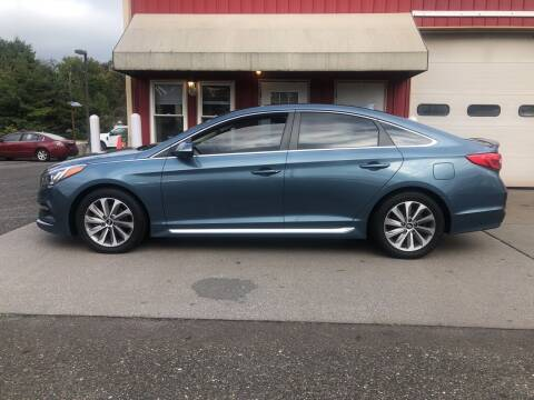 2015 Hyundai Sonata for sale at JWP Auto Sales,LLC in Maple Shade NJ