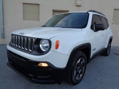 2017 Jeep Renegade for sale at Selective Motor Cars in Miami FL