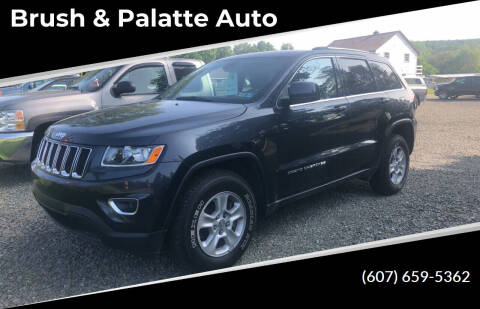 2015 Jeep Grand Cherokee for sale at Brush & Palette Auto in Candor NY