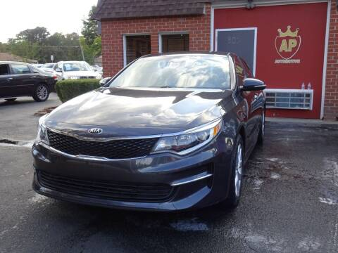 2017 Kia Optima for sale at AP Automotive in Cary NC