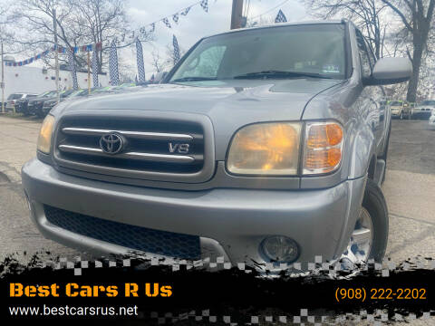2003 Toyota Sequoia for sale at Best Cars R Us in Plainfield NJ