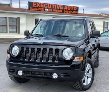 2015 Jeep Patriot for sale at Executive Auto in Winchester VA